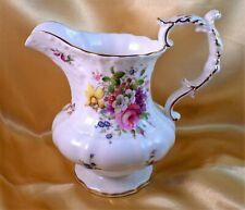More details for hammersley jug howard sprays china floral embossed vintage 6