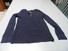 Cherokee navy girls size L pullover top
