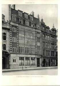 1907 St Mary- At -hill House, Eastcheap, George Sherrin Architect