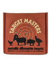 TARGET MASTERS - Steel Plate Shooting Range Targets Ram Pig Turkey Chicken- NIB!
