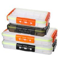 Portable Storage Fishing Lure Spoon Hook Bait Tackle Box Waterproof Fishing Bag