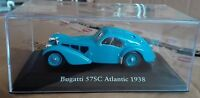 "DIE CAST "" BUGATTI 57SC ATLANTIC - 1938 "" SCALA 1/43 ATLAS EDITION"