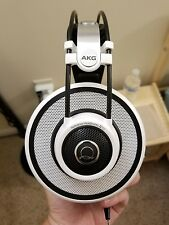 AKG Q 701 Quincy Jones Signature Reference-Class Premium Headphones (White)