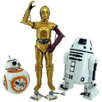 Takara Tomy STAR WARS The Force Awakens 12 inch FIGURE BB-8 & C-3PO & RO-4LO Set