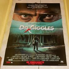 original DR. GIGGLES video store poster Larry Drake