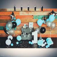 150X90/210cm Baby 1st Birthday Photography Background Backdrop Vinyl Studi