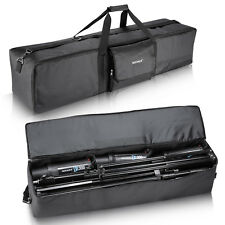 "Neewer Black 42x9x10"" Photo Video Studio Kit Large Carrying Zipper Bag Case"