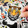 50 Retrosticker Stickerbomb Cartoon dope tiger Aufkleber Sticker Mix Decals