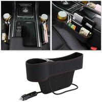 Car Accessories Seat Gap Storage Bag Coins Cables Organizer Left S5Q9