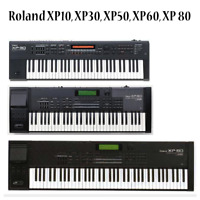 Most Sounds: Roland XP-10, XP-30, XP-50, XP-60, XP-80
