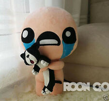 35CM PP Cotton The Binding of Isaac Soft Plush Toy Doll ISSAC with Cat Pillow