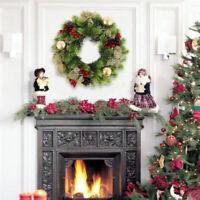 Guirlande guirlande suspendue décor décoration porte fête Noël décoratio SH
