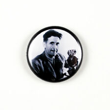 George Orwell - Author - Literary 1 inch Pinback Button - 1984 Animal Farm
