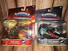 New SKYLANDERS SUPERCHARGERS BURN CYCLE AND CRYPT CRUSHER FREE US SHIPPING