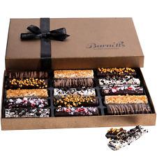 Barnett's Cookies Gourmet Chocolate Covered Hazelnut Wafers | 2020 Food Gift | &