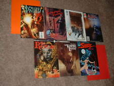 Lot of 7 Number 1 Independent Horror & Suspense Comics FN- FN VF Free Shipping