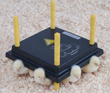 25cm Chick Brooder/Heat Plate with 0.5L Drinker & 30cm Feeder for upto 20 chicks