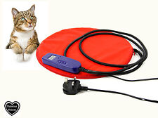 Cat Dog Puppy Pet Riscaldato PAD LETTO CON LCD DISPLAY TEMP