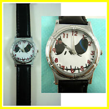 Nightmare Before Christmas Jack Face Fashion Wrist Quartz Watch Wristwatch