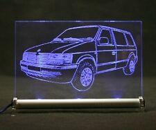 Chrysler Voyager II  ES als  AutoGravur auf LED-Schild