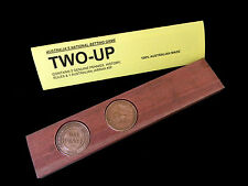 Australian Souvenir Genuine Pennies Jarrah Two Up Kip Australia Natation Game