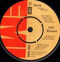 "CLIFF RICHARD carrie/moving in EMI 5006 uk emi 1980 7"" WS EX/"