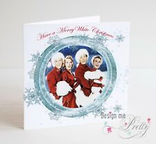 WHITE CHRISTMAS Card - Bing Crosby Danny Kaye - Mum Dad