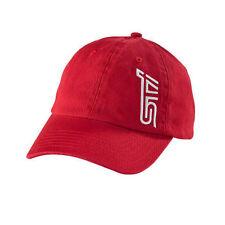 Genuine Subaru STI Basic Cap Hat Impreza STI Logo WRX Racing Impreza Red New