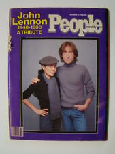 People Magazine John Lennon Photograph Cover Tribute Issue December 1980