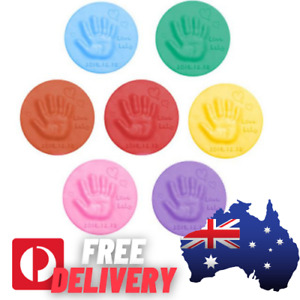 Soft Baby Care Air Drying Clay Baby Handprint Footprint Imprint Kit Casting AU