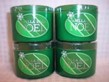 4 candles Bath & Body Works mini 1.6 oz Candle Slatkin Vanilla Bean Noel
