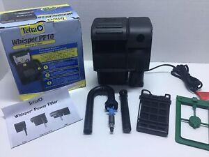 Tetra PF10 Whisper IQ Power Filter 10 Gallons, 105 GPH, Stay Clean Technology