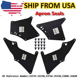 For Lexus GX470 GX460 Toyota 4Runner FJ Cruiser Splash Guard Fender Liner Shield