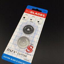 Lame rotative découpeur cutter rotary lames  28mm 2 pcs Olfa, Fiskars, Clover