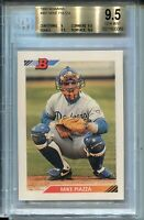 1992 Bowman Baseball #461 Mike Piazza Rookie Card RC Graded BGS Gem Mint 9.5