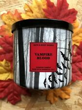 Bath and Body Works 3 Wick Halloween Vampire Blood Candle