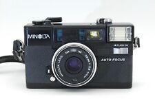 Minolta Hi-Matic AF2 Autofocus 35mm Camera w/strap; *No Flash*; Free Shipping