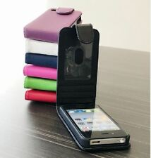For Apple iPhone 4 4S Case Premium Flip Leather Cover