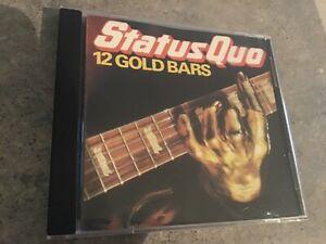Status Quo 12 Gold Bars CD Free Post