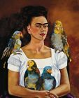 Print -    Me and My Parrot, 1941 by Frida Kahlo