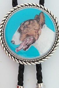 Bull Terrier Dog Classic Bolo Tie