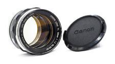 CANON 58mm F1.2 - FL - 1960s - LOVELY!