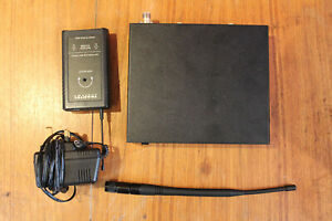 TRANTEC wireless body/belt pack transmitter with receiver (SOLD AS SEEN)