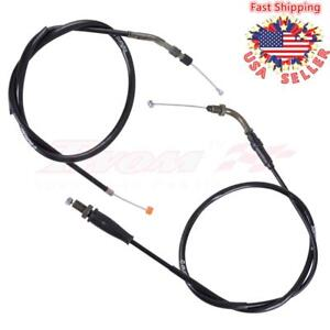 Throttle Cable + Clutch Cable Comp For HONDA TRX400EX SPORTRAX 400 2X4 1999-2004
