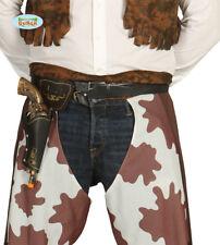 Accessori Fondina cowboy, sceriffo, western con pistola Carnevale,g18448