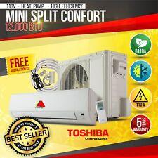 12000 BTU 15 SEER 110V Mini Split Confort  System Ductless AC  Heat Pump  110V