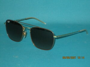 RAY BAN RB3588 9055/13 Brown-Gold/Brown Gradient Unisex Aviator Sunglasses 55mm