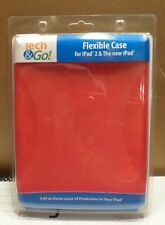 New Tech & Go Flexible Case For Ipad 2 & The New Ipad RED or BLUE
