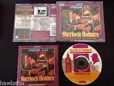SHERLOCK HOLMES CONSULTING DETECTIVE - COMPLETE - PAL - SEGA MEGA CD