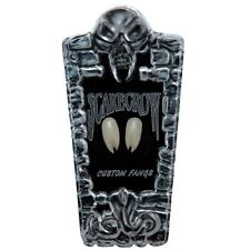 NEW* Scarecrow Werewolf / Vampire VIPER SPLIT Fangs / Teeth - Halloween Dress Up